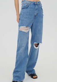 PULL&BEAR - Jeans Straight Leg - stone blue denim - 0