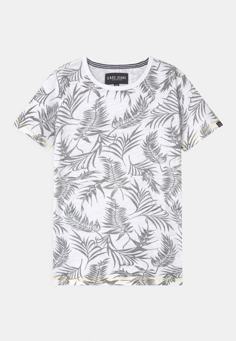 Cars Jeans - JUNEAU - T-shirt imprimé - white