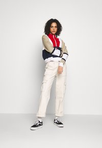 Tommy Jeans - COLORBLOCK LOGO - Trui - twilight navy/multi - 1