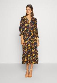 ONLY - ONLNALINA DRESS - Robe chemise - black - 0