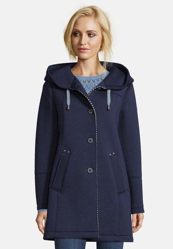 MIT KAPUZE - Short coat - dress blues