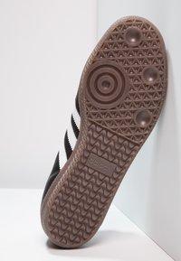 adidas Originals - SAMBA OG - Sneaker low - core black/footwear white - 4