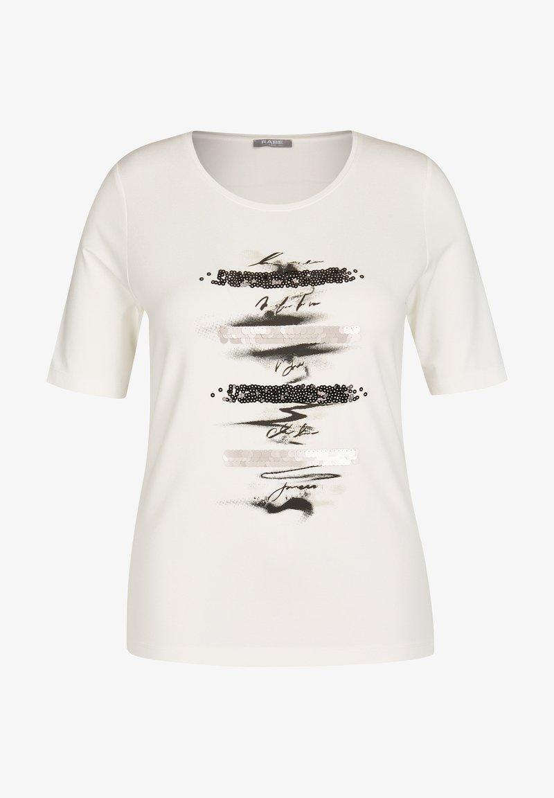 Rabe 1920 - Print T-shirt - weiãŸ