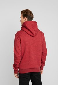 Superdry - ZIP HOOD - Sweater met rits - desert red grit - 2