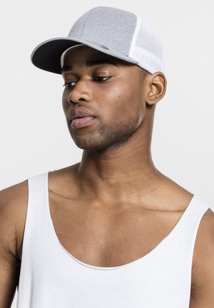 Cap - heather/white