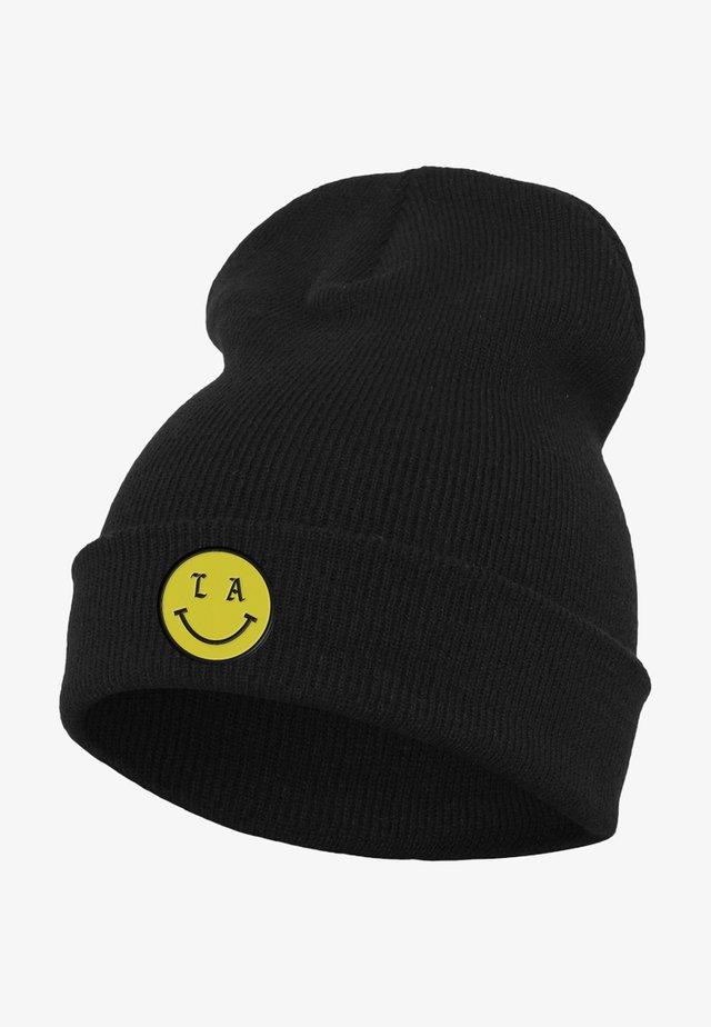 LA SMILE BEANIE - Mössa - black