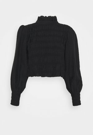 YASSMOCKA VICTORIAN TOP - Blouse - black