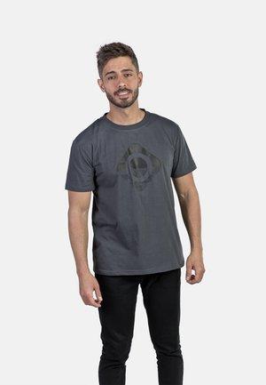 GRANBY - T-shirt imprimé - dark grey/black