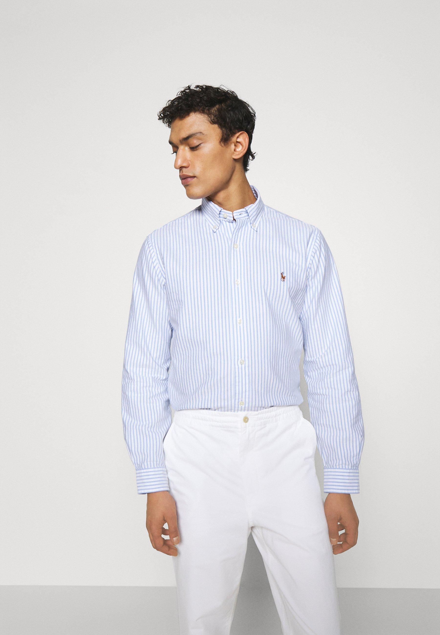 Uomo CUSTOM FIT STRIPED SHIRT - Camicia