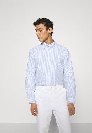 LONG SLEEVE SPORT - Shirt - basic blue/white