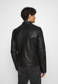 Oakwood - FREDERIC - Kožená bunda - noir - 2