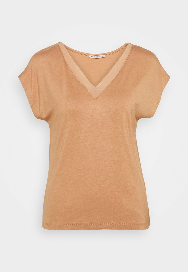 Anna Field - Basic T-shirt - camel