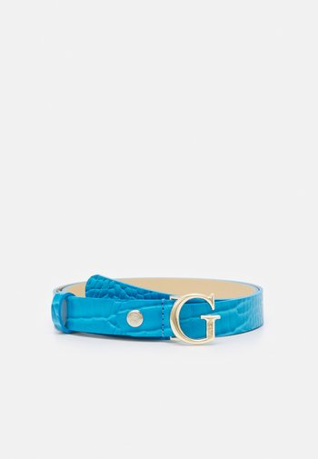 CORILY ADJUSTABLE PANT BELT - Belt - blue