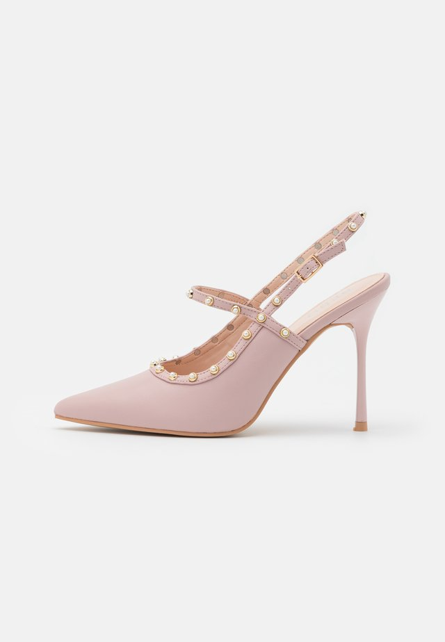 WILLA - Classic heels - blush