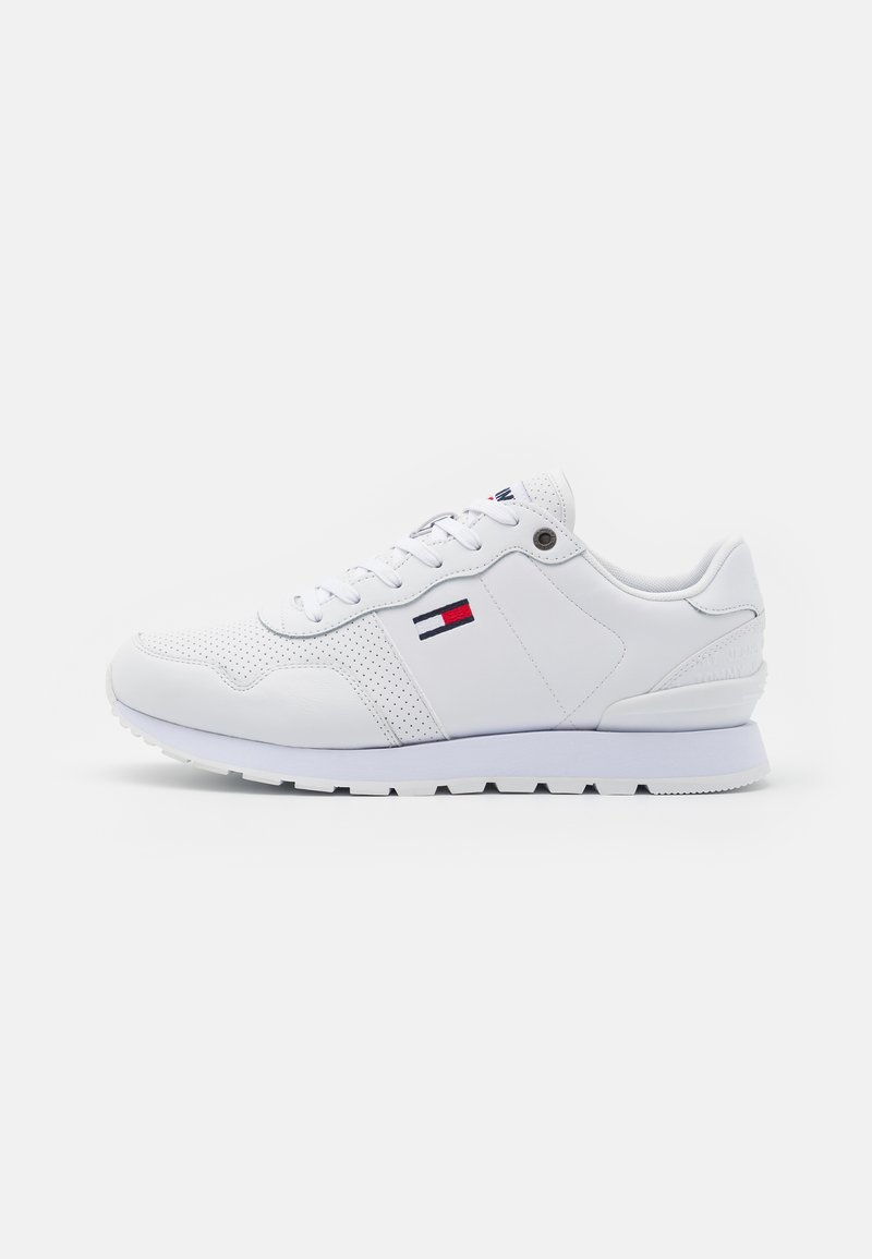 Tommy Jeans - LIFESTYLE LEA RUNNER - Sneakers basse - white