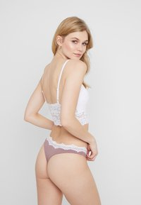 Anna Field - CANDY 5PP THONG  - String - grey/pink/white - 3