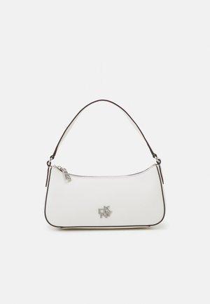 BRYANT WRISTLET POUCH LOGO - Handbag - white/silver