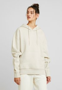 Weekday - ALISA HOODIE - Sweat à capuche - beige dusty light - 0
