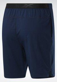Reebok - WORKOUT READY SPEEDWICK TRAINING 1/2 - Pantaloncini sportivi - blue - 4