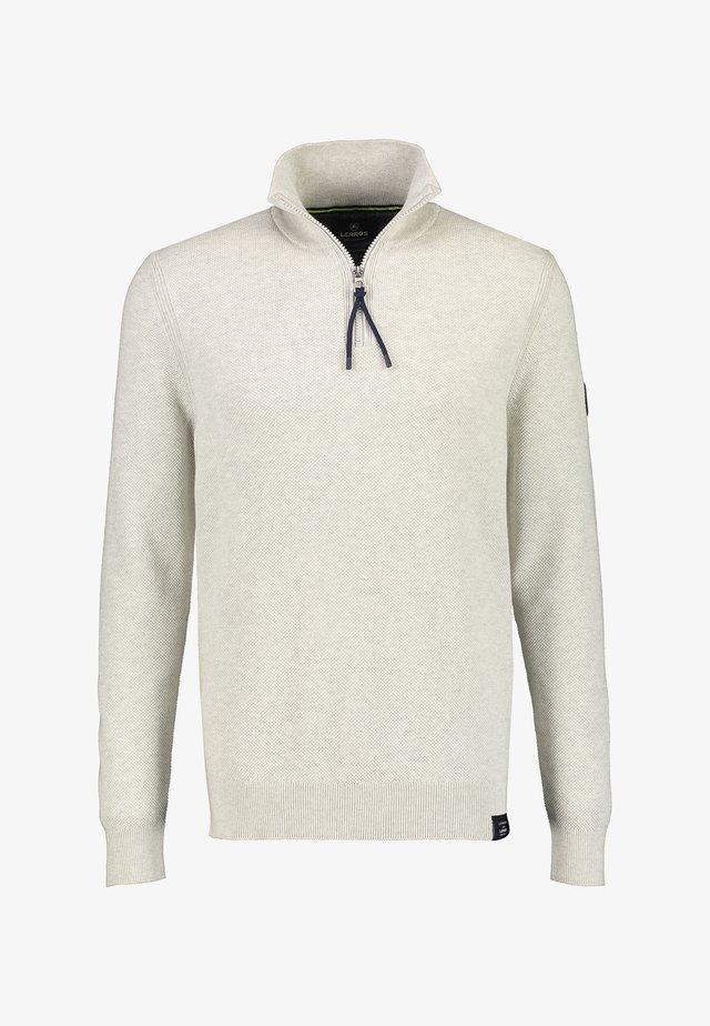 Fleece jumper - off white