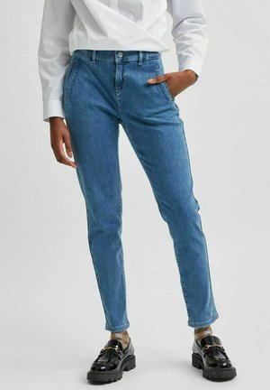 SUPERSTRETCH - Jeans Slim Fit - medium blue denim
