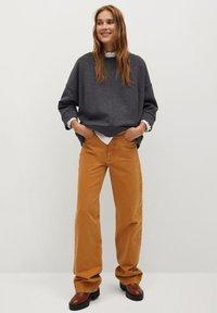 Mango - MIA - Sweatshirt - dunkelgrau meliert - 1