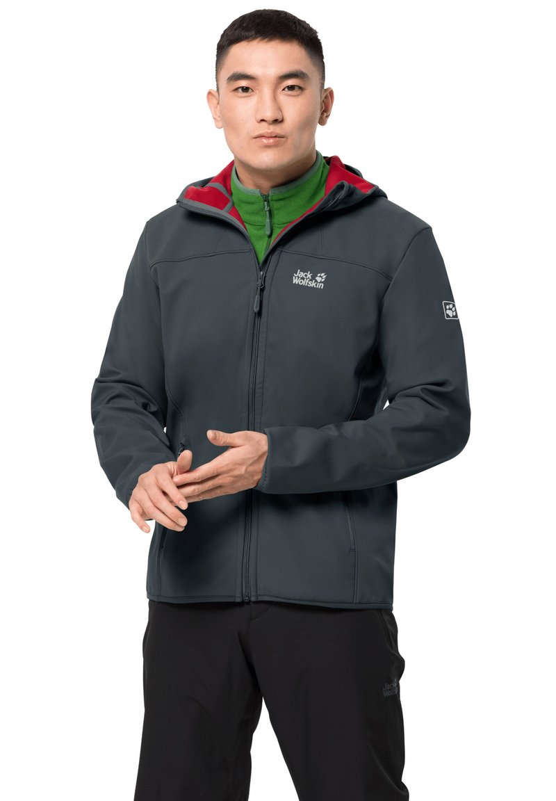 Jack Wolfskin - NORTHERN POINT - Outdoor jacket - ebony