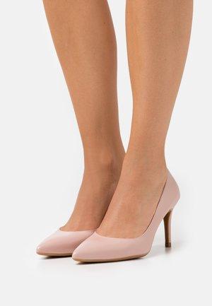 ALYSSE - Classic heels - dusky pink
