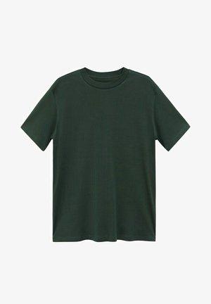 BELLOW - Basic T-shirt - vert