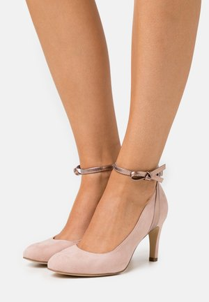 Pumps - rose metallic