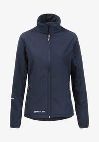 Whistler - Covina MIT WASSERDICHTER ZWISCHENMEMBRAN - Soft shell jacket - navy - 5