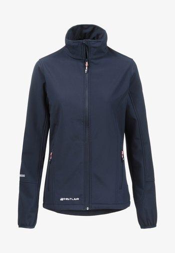 Covina MIT WASSERDICHTER ZWISCHENMEMBRAN - Soft shell jacket - navy