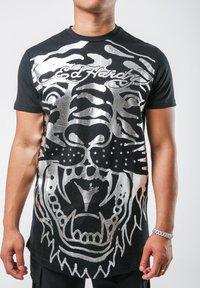 Ed Hardy - BIG-TIGER T-SHIRT - Print T-shirt - black - 2