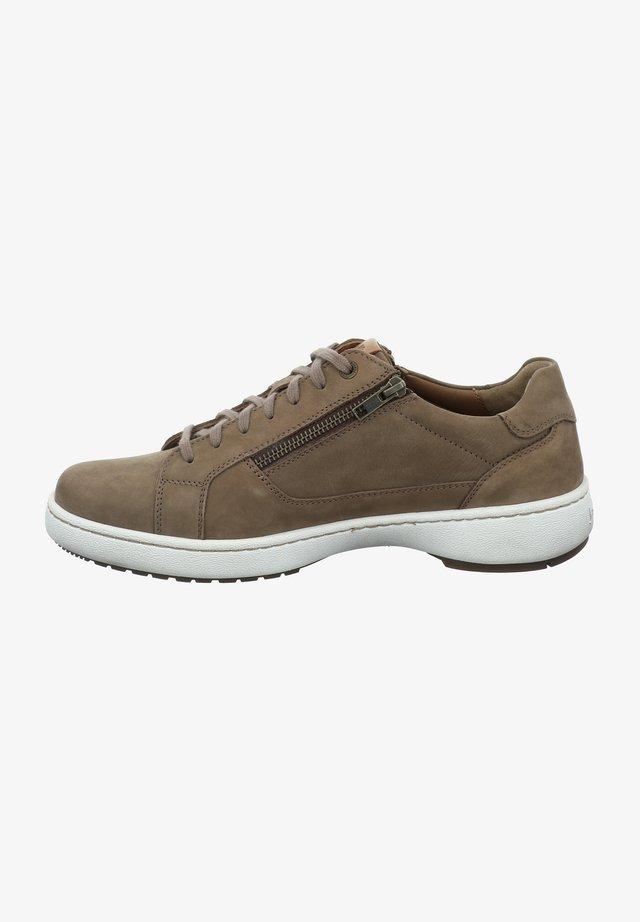 Sneakers laag - taupe-kombi