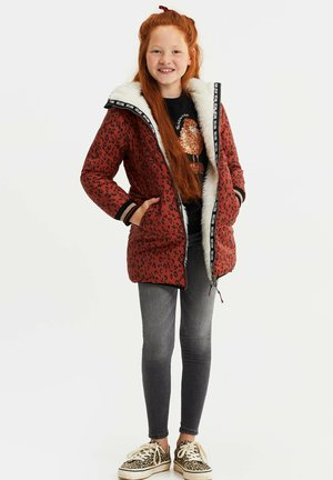 MET CAPUCHON REVERSIBLE - Winter coat - terra cotta