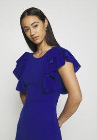 WAL G. - KENSLEY RUFFLE SLEEVE DRESS - Day dress - electric blue - 5