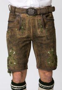 Stockerpoint - MICHEL - Shorts - brown - 3