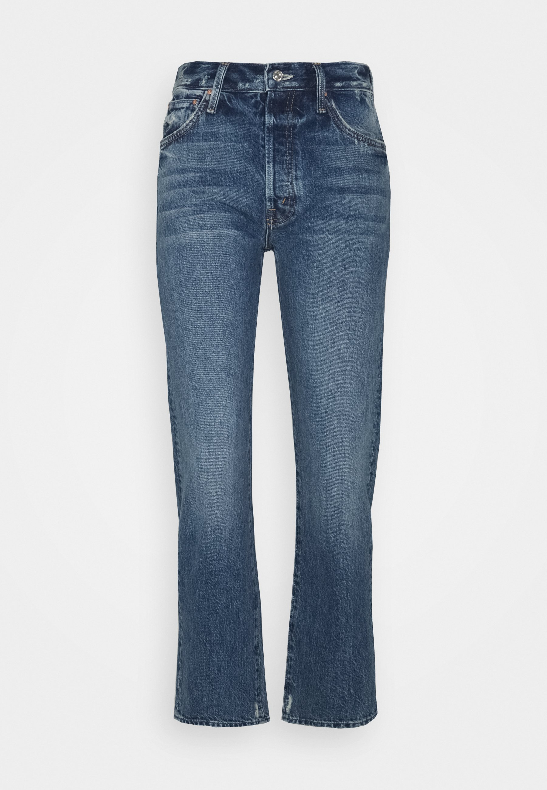 Femme HIGH WAISTED HIKER HOVER - Jean droit