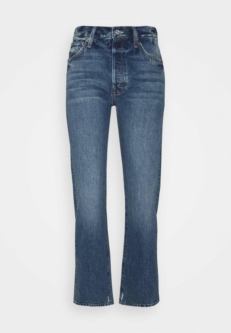Mother - HIGH WAISTED HIKER HOVER - Straight leg jeans - blue denim