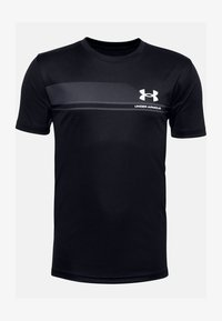 Under Armour - UA TECH - Print T-shirt - black - 0