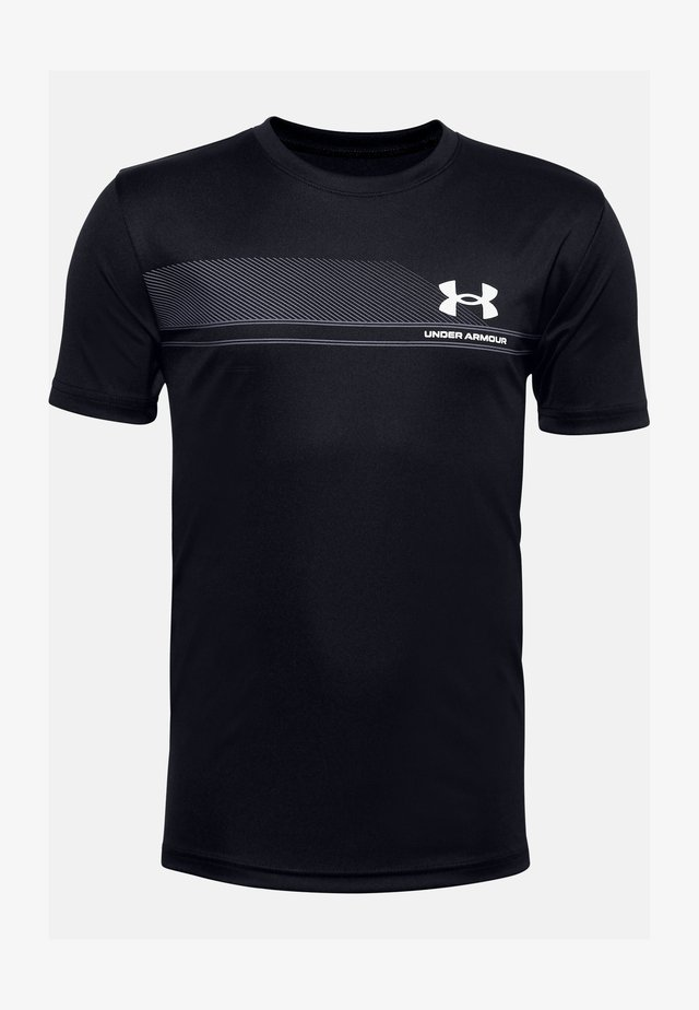 UA TECH - T-shirt print - black