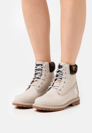 6IN HERT CUPSOLE - Bottines à lacets - light taupe