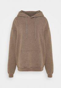 BDG Urban Outfitters - SKATE HOODIE - Hoodie - chocolate - 3