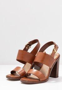 ALDO - FIELIA - High heeled sandals - cognac - 4