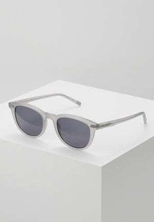 Sunglasses - matte light grey
