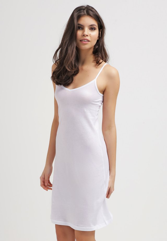 ULTRA LIGHT BODYDRESS - Nattlinne - white