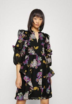 OBJMILA DRESS - Sukienka letnia - black