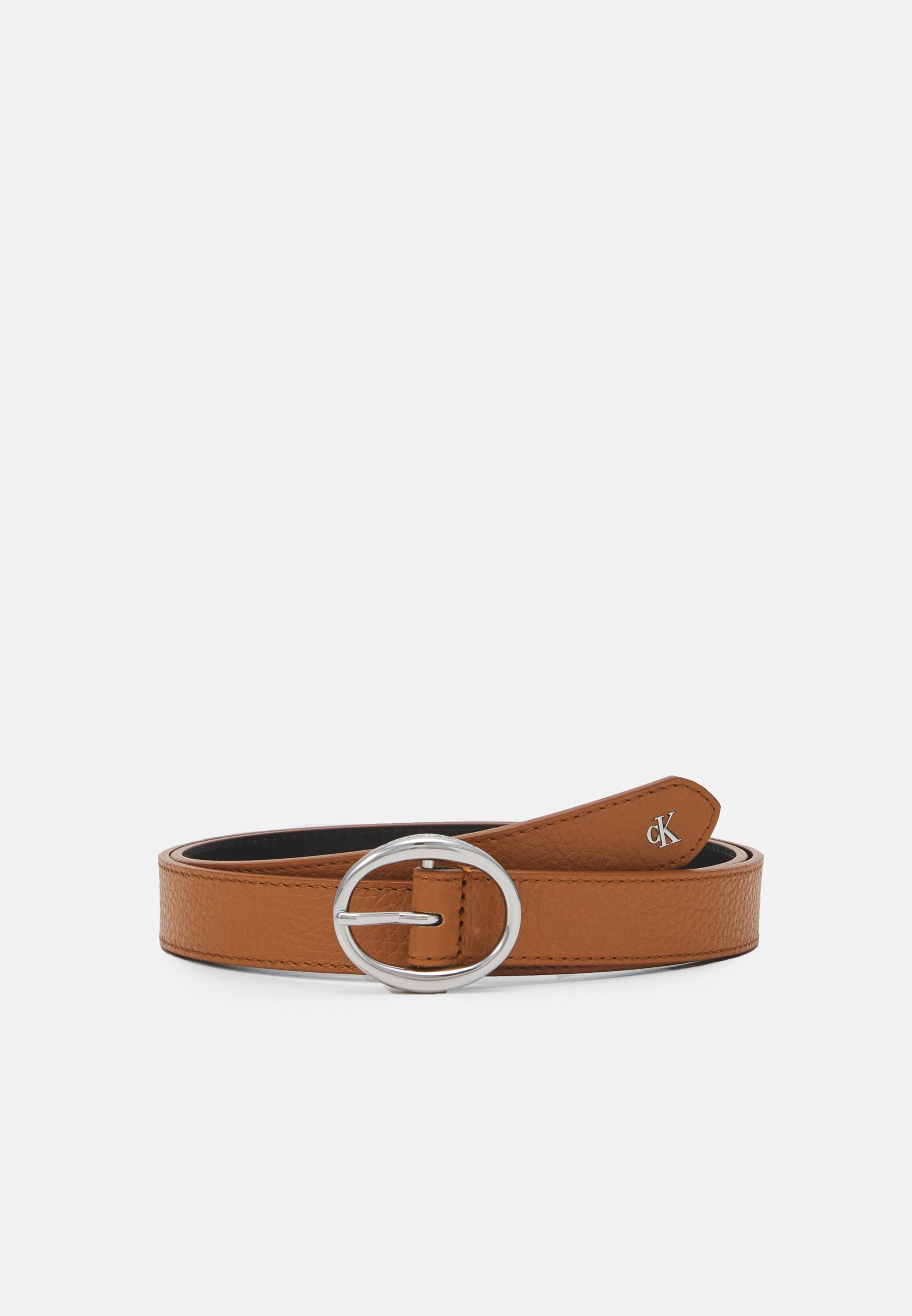 Women ROUNDED CLASSIC BELT - Belt