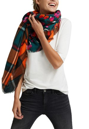 Scarf - dark teal green