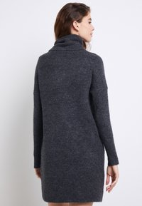 ONLY - ONLJANA COWLNECK DRESS  - Strikkjoler -  grey - 3